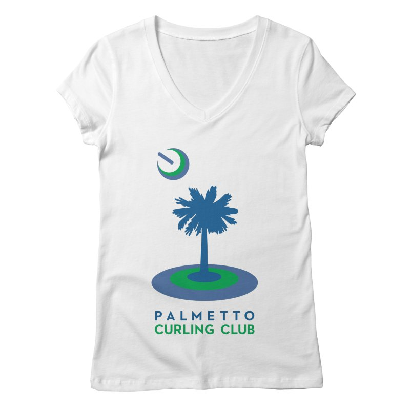 Light Apparel Women's V-Neck by Palmetto Curling Club Swag