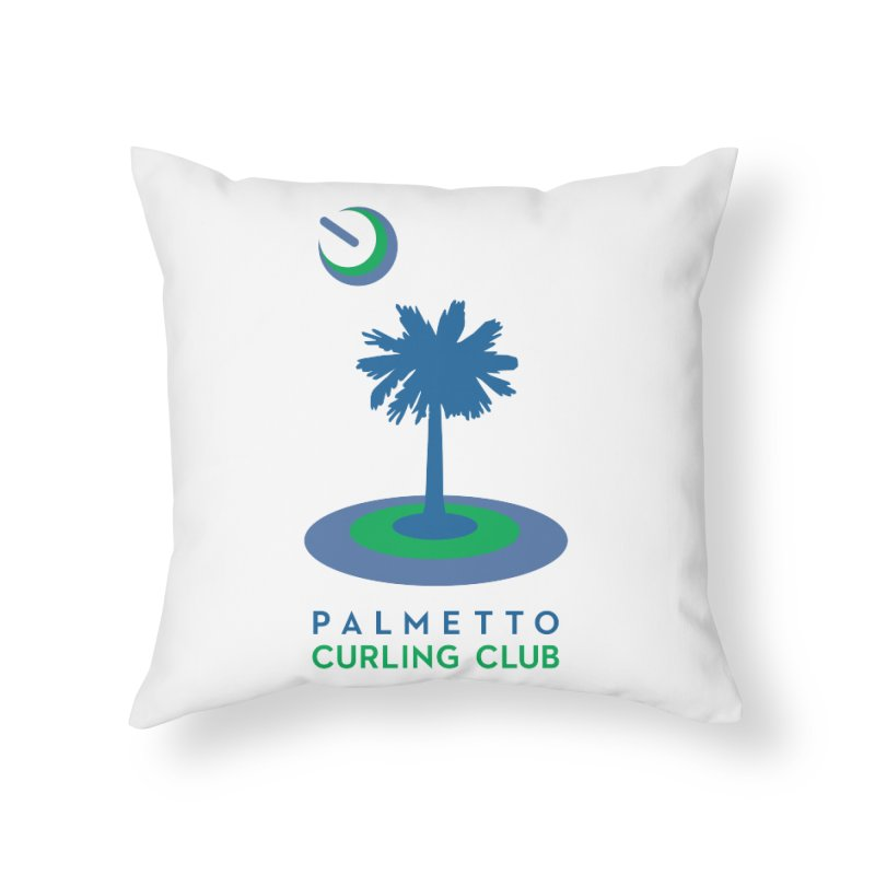 Home Goods in Throw Pillow by Palmetto Curling Club Swag