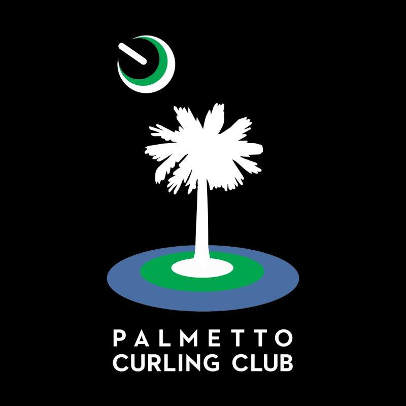 Dark Pullover Hoodies Men's Pullover Hoody by Palmetto Curling Club Swag