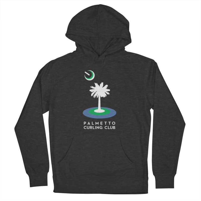 Dark Pullover Hoodies in Men's French Terry Pullover Hoody Smoke by Palmetto Curling Club Swag