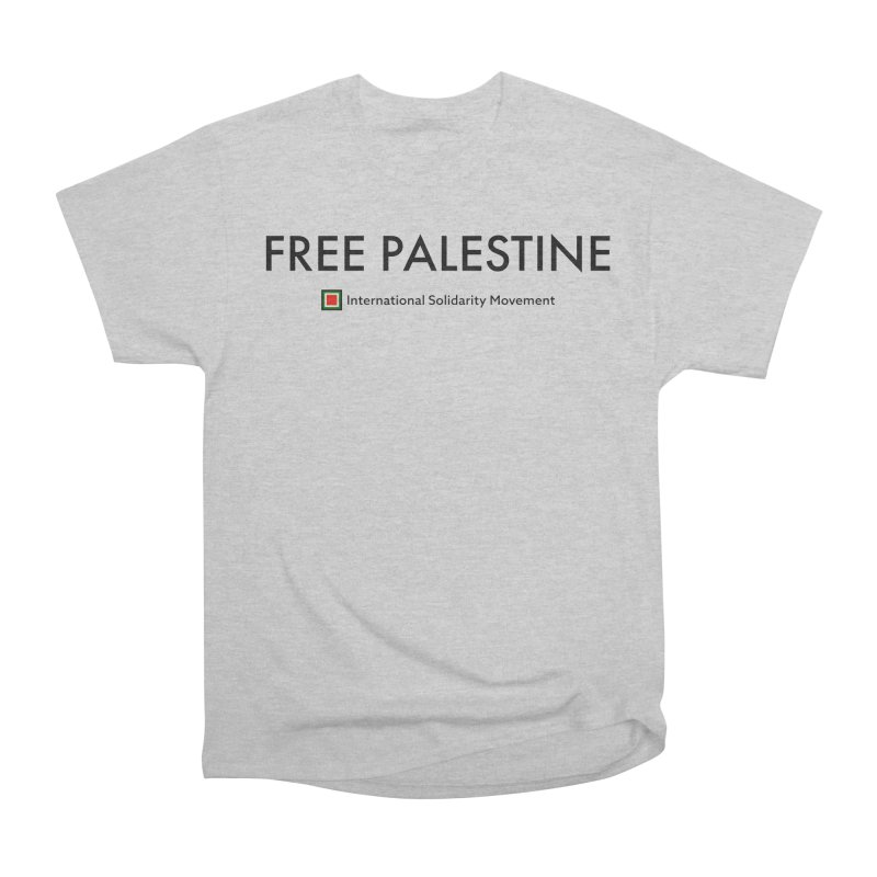FREE PALESTINE - Black Men's Classic T-Shirt by International Solidarity Movement