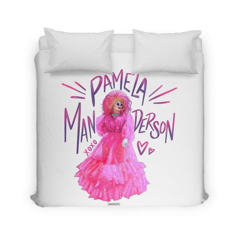 Nikki Playdough Home Duvet by Pamela Manderson's Artist Shop