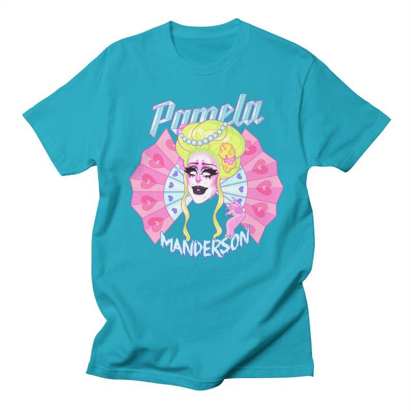 Marie AquaNette Men's T-Shirt by Pamela Manderson's Artist Shop