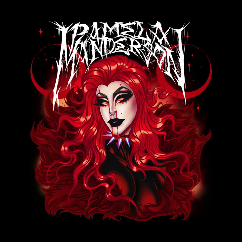 She's a Vamp Men's T-Shirt by Pamela Manderson's Artist Shop