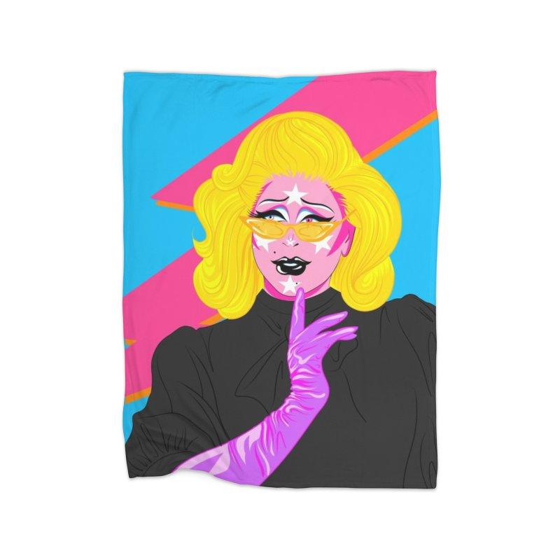 Purple People Eater Home Blanket by Pamela Manderson's Artist Shop