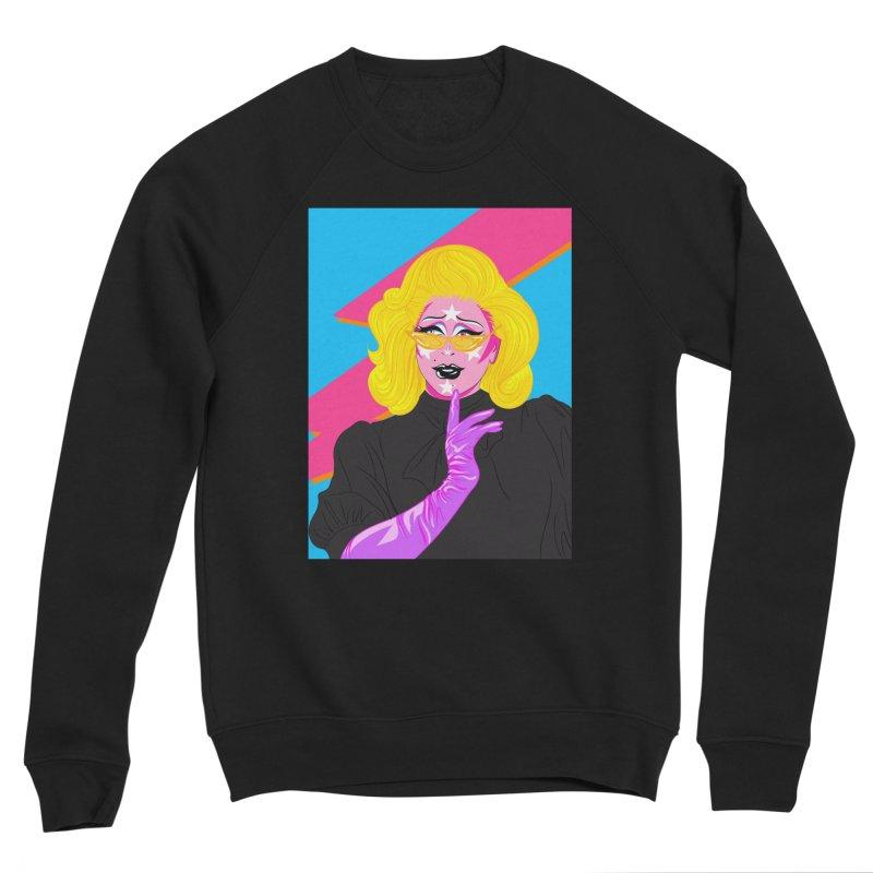 Purple People Eater Men's Sweatshirt by Pamela Manderson's Artist Shop