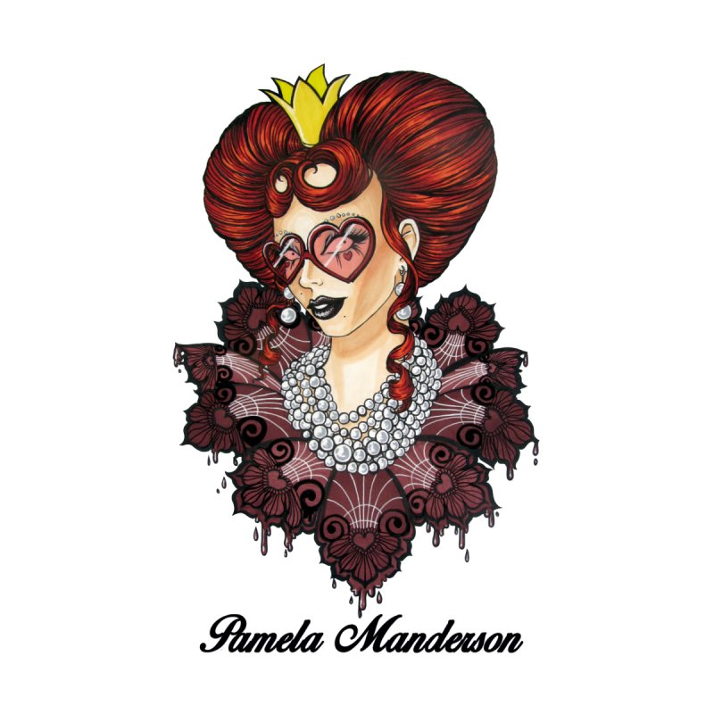 Queen of Hearts Accessories Sticker by Pamela Manderson's Artist Shop