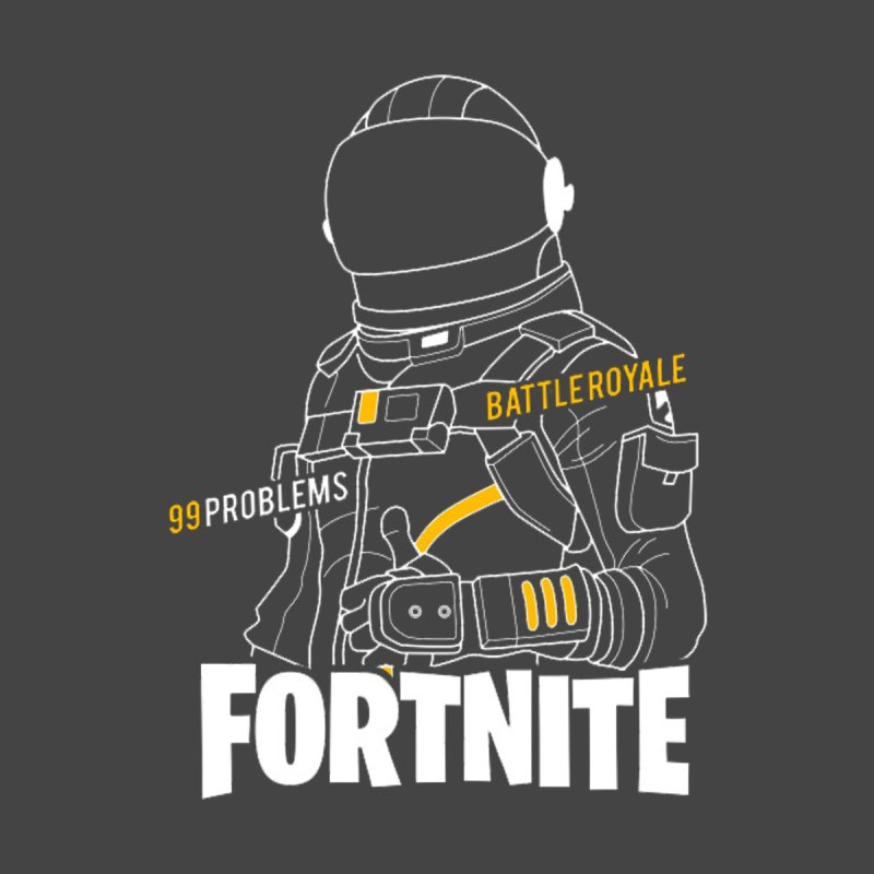 fortnite spaceman Men's T-Shirt by pampouchos's Artist Shop