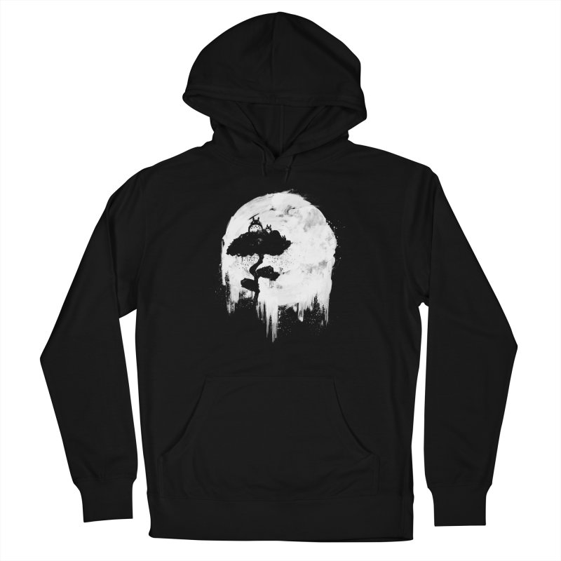 Midnight Spirits Men's French Terry Pullover Hoody by PandaBacon's Artist Shop