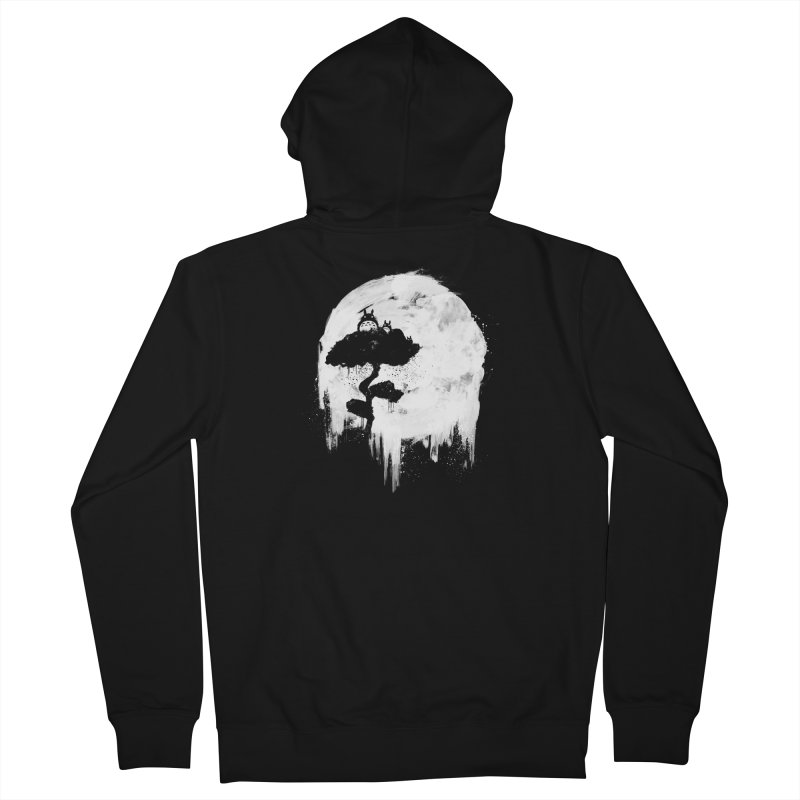 Midnight Spirits Men's French Terry Zip-Up Hoody by PandaBacon's Artist Shop