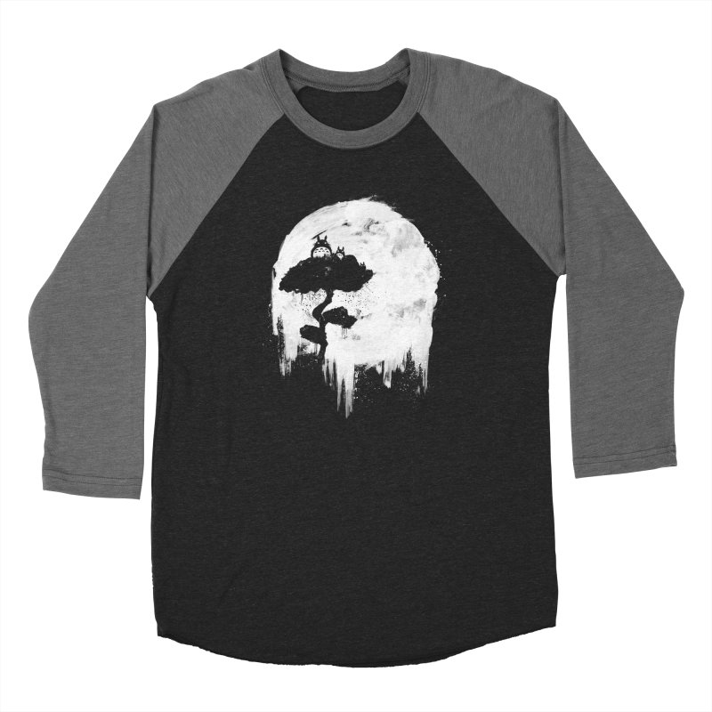 Midnight Spirits Men's Baseball Triblend Longsleeve T-Shirt by PandaBacon's Artist Shop