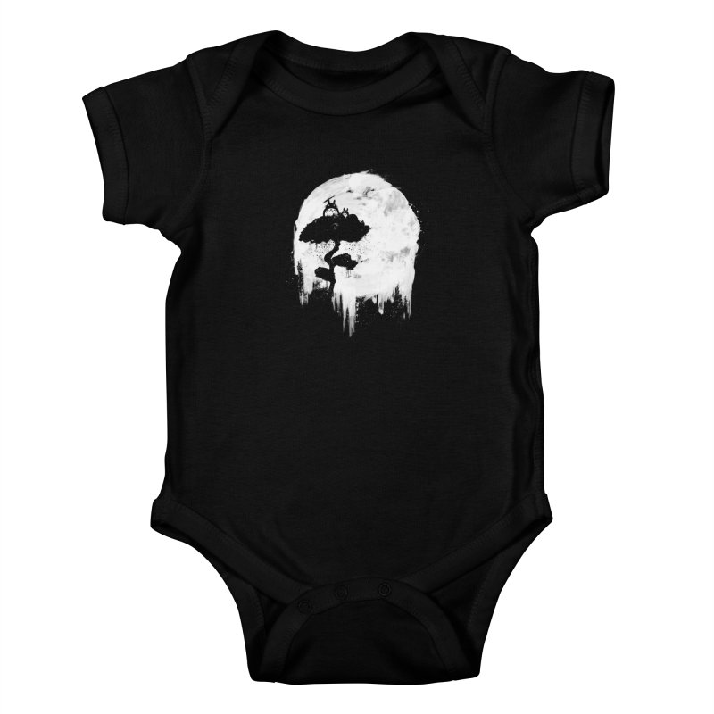 Midnight Spirits Kids Baby Bodysuit by PandaBacon's Artist Shop