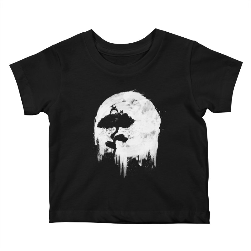 Midnight Spirits Kids Baby T-Shirt by PandaBacon's Artist Shop