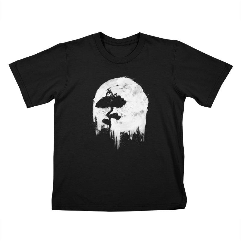 Midnight Spirits Kids T-Shirt by PandaBacon's Artist Shop