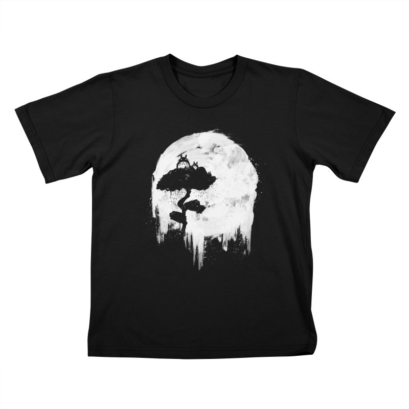 Midnight Spirits Kids T-shirt by PandaBacon's Artist Shop