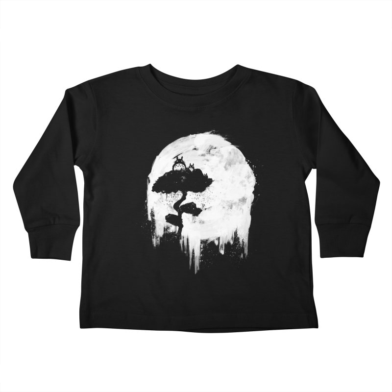 Midnight Spirits Kids Toddler Longsleeve T-Shirt by PandaBacon's Artist Shop