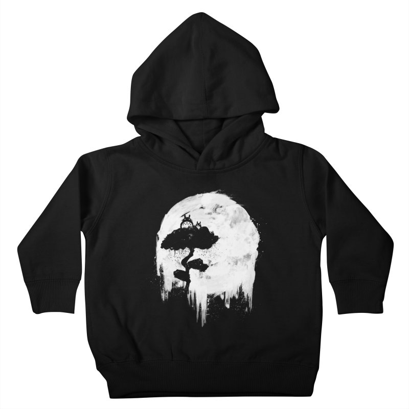 Midnight Spirits Kids Toddler Pullover Hoody by PandaBacon's Artist Shop