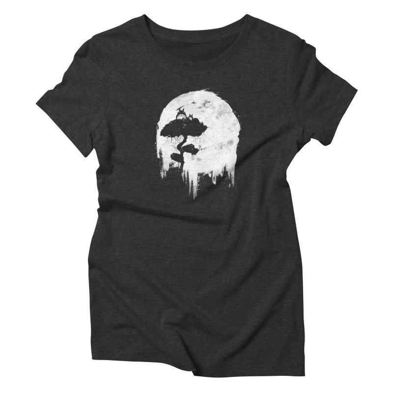 Midnight Spirits Women's T-Shirt by PandaBacon's Artist Shop