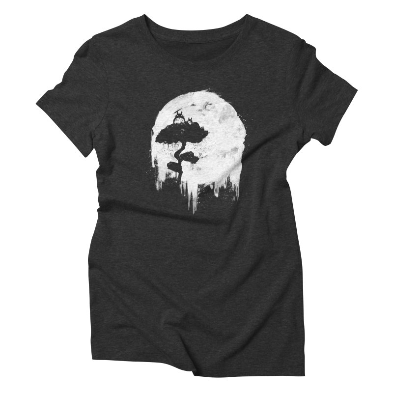 Midnight Spirits Women's Triblend T-Shirt by PandaBacon's Artist Shop