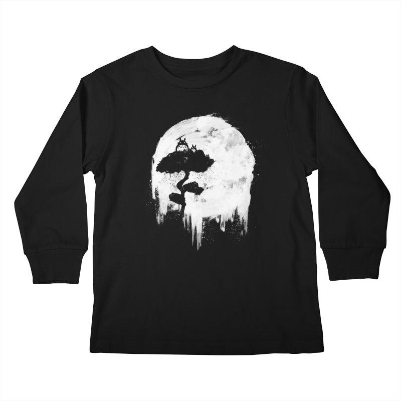 Midnight Spirits Kids Longsleeve T-Shirt by PandaBacon's Artist Shop