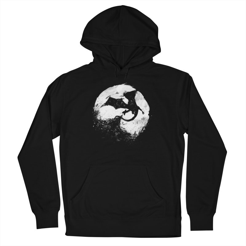 Midnight Desolation Men's French Terry Pullover Hoody by PandaBacon's Artist Shop