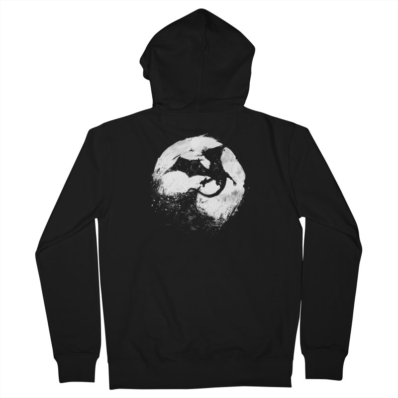 Midnight Desolation Men's French Terry Zip-Up Hoody by PandaBacon's Artist Shop