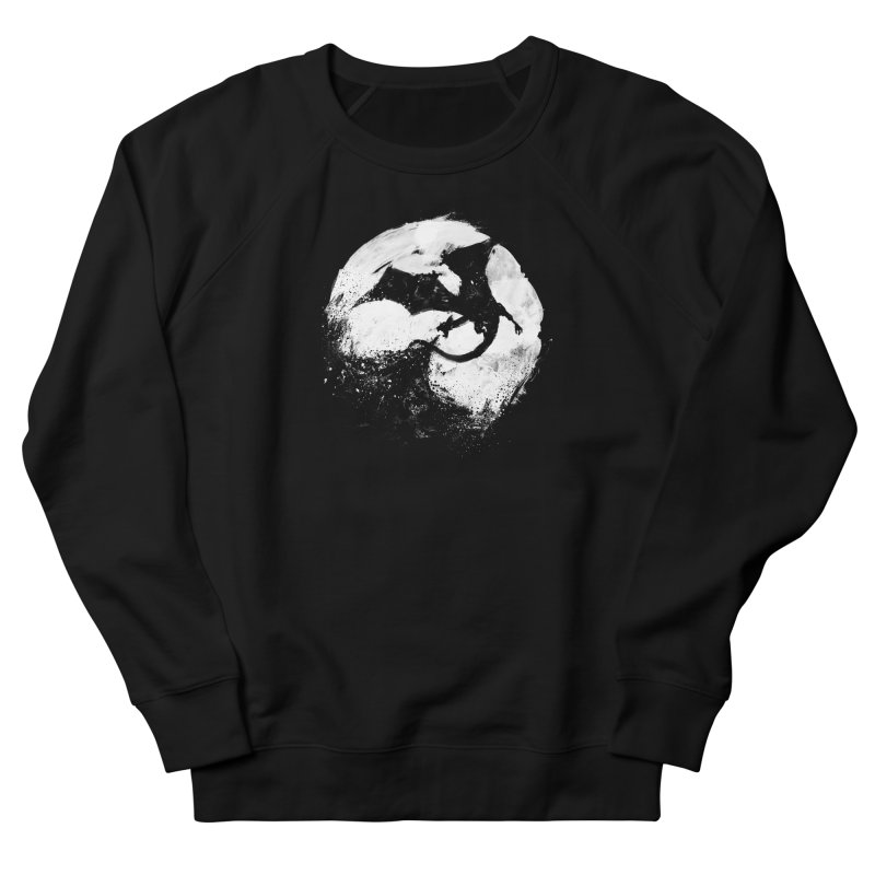Midnight Desolation Men's Sweatshirt by PandaBacon's Artist Shop