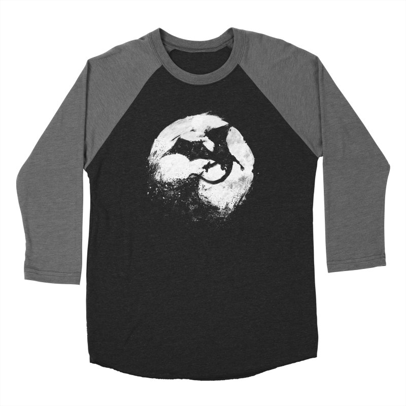 Midnight Desolation Men's Baseball Triblend Longsleeve T-Shirt by PandaBacon's Artist Shop
