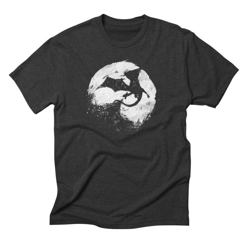 Midnight Desolation Men's Triblend T-shirt by PandaBacon's Artist Shop