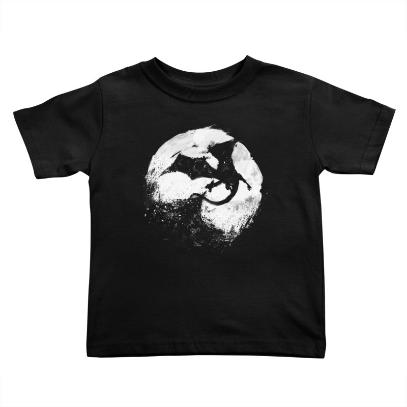 Midnight Desolation Kids Toddler T-Shirt by PandaBacon's Artist Shop