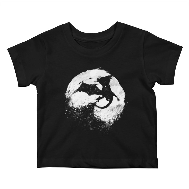 Midnight Desolation Kids Baby T-Shirt by PandaBacon's Artist Shop