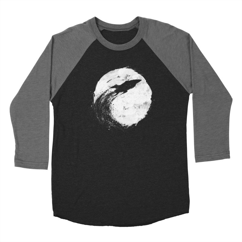 Midnight Delivery Women's Baseball Triblend Longsleeve T-Shirt by PandaBacon's Artist Shop