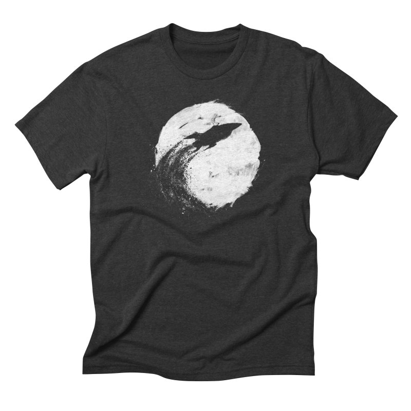 Midnight Delivery Men's Triblend T-shirt by PandaBacon's Artist Shop
