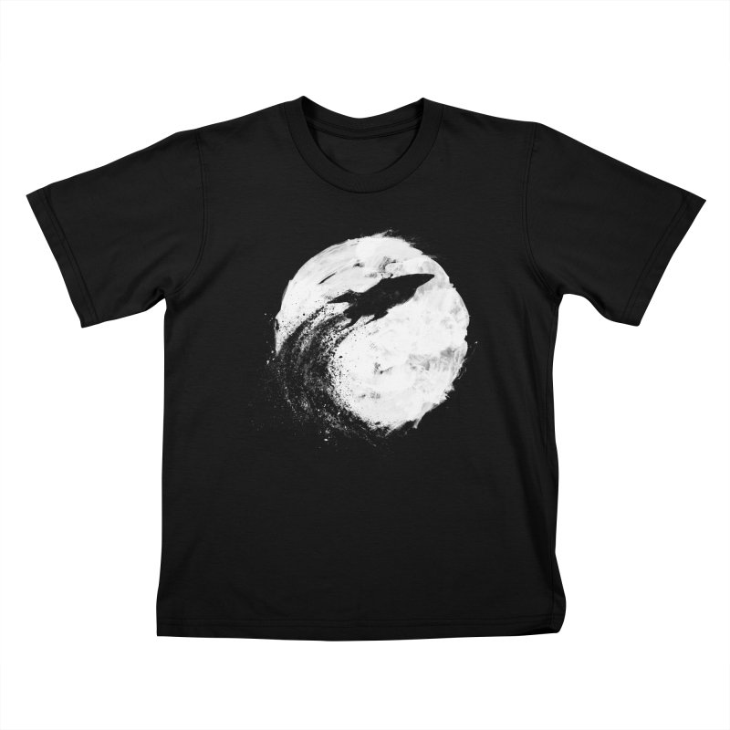 Midnight Delivery Kids T-shirt by PandaBacon's Artist Shop