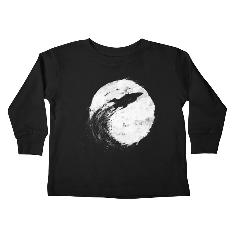 Midnight Delivery Kids Toddler Longsleeve T-Shirt by PandaBacon's Artist Shop