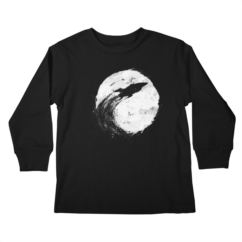Midnight Delivery Kids Longsleeve T-Shirt by PandaBacon's Artist Shop