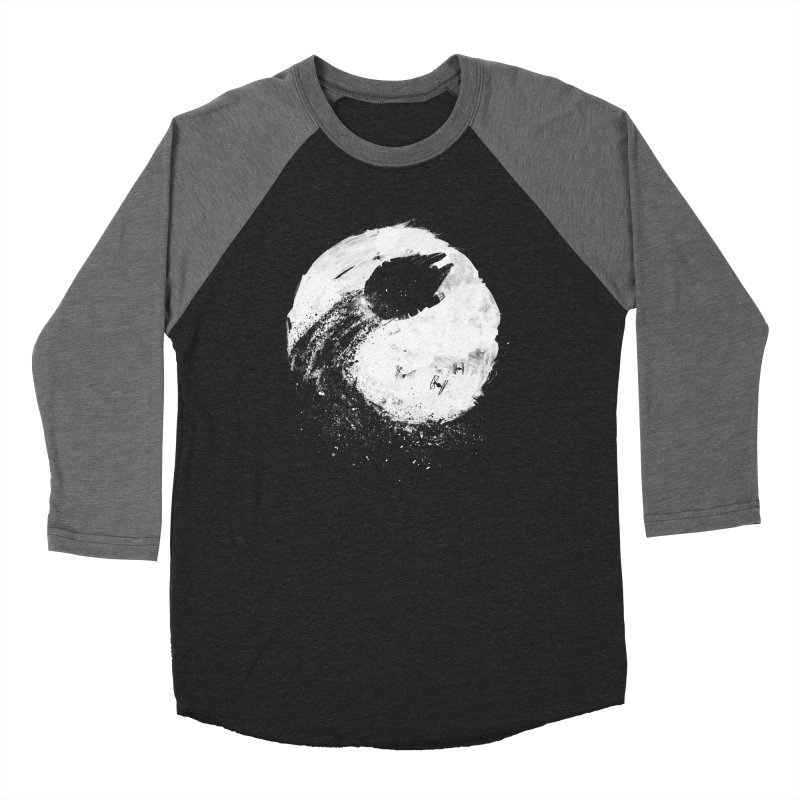 Midnight Awakening Men's Baseball Triblend Longsleeve T-Shirt by PandaBacon's Artist Shop