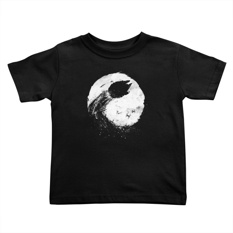 Midnight Awakening Kids Toddler T-Shirt by PandaBacon's Artist Shop