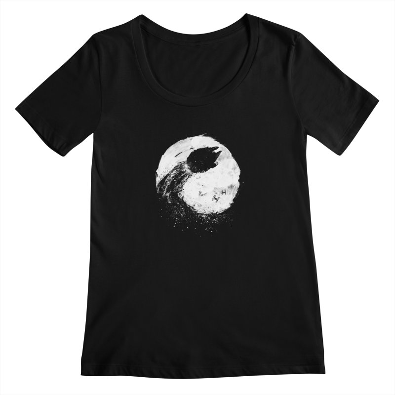 Midnight Awakening Women's Scoopneck by PandaBacon's Artist Shop