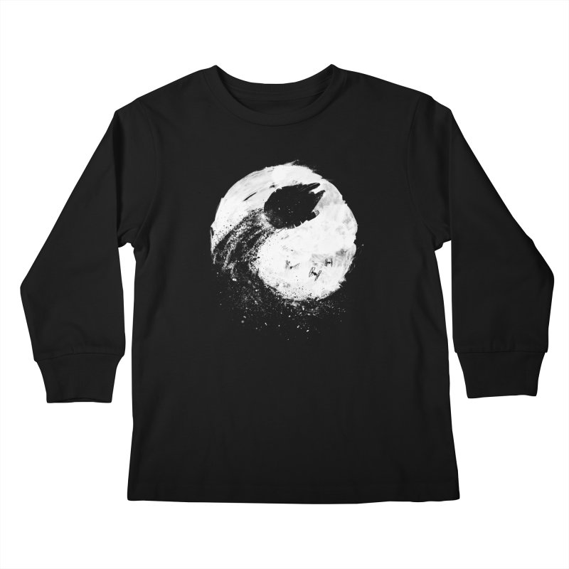 Midnight Awakening Kids Longsleeve T-Shirt by PandaBacon's Artist Shop