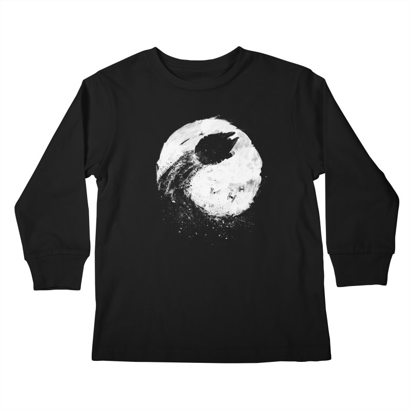 Midnight Awakening Kids Longsleeve T-Shirt by PandaBacon's Artist Shop