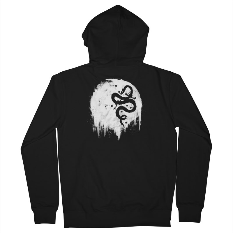 Midnight Wish Men's French Terry Zip-Up Hoody by PandaBacon's Artist Shop
