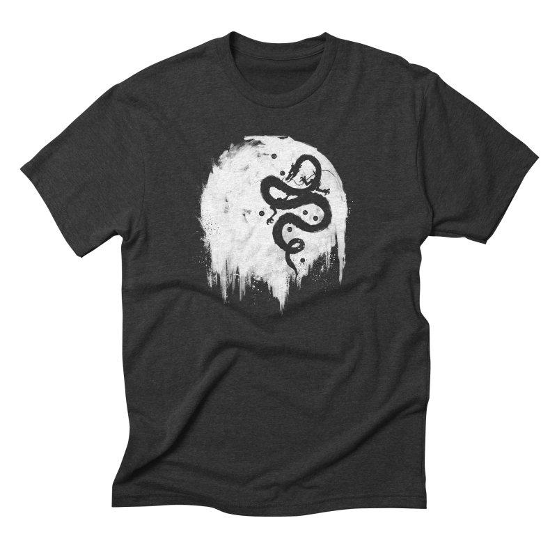 Midnight Wish Men's Triblend T-shirt by PandaBacon's Artist Shop