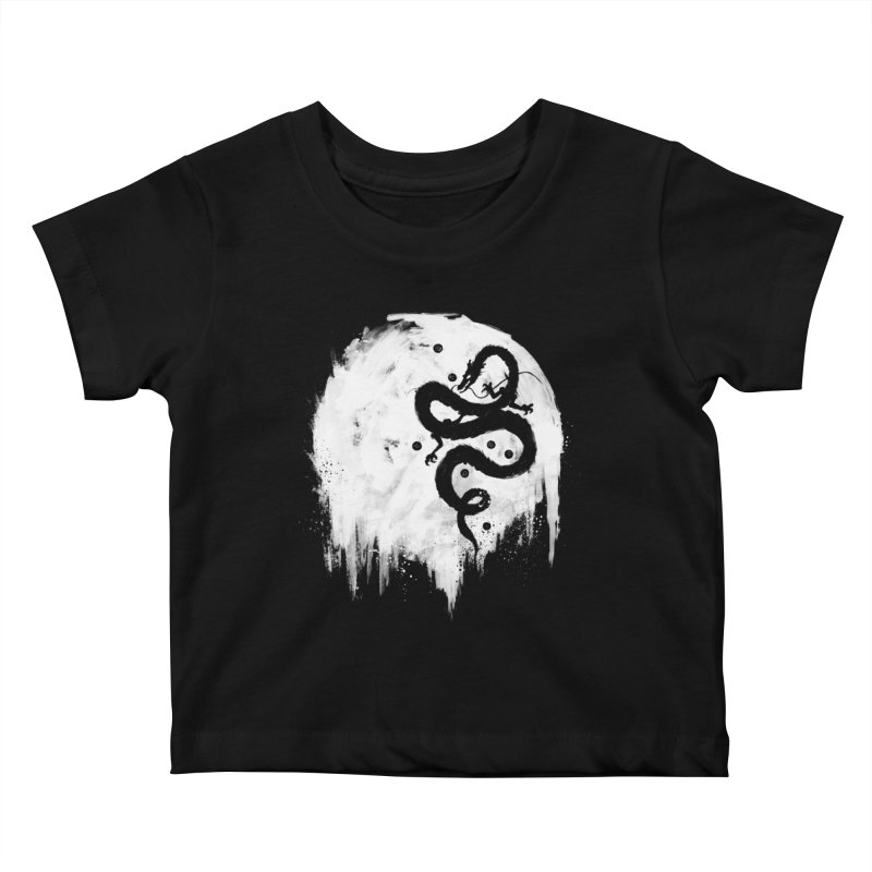 Midnight Wish Kids Baby T-Shirt by PandaBacon's Artist Shop