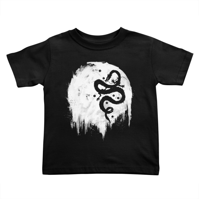 Midnight Wish Kids Toddler T-Shirt by PandaBacon's Artist Shop
