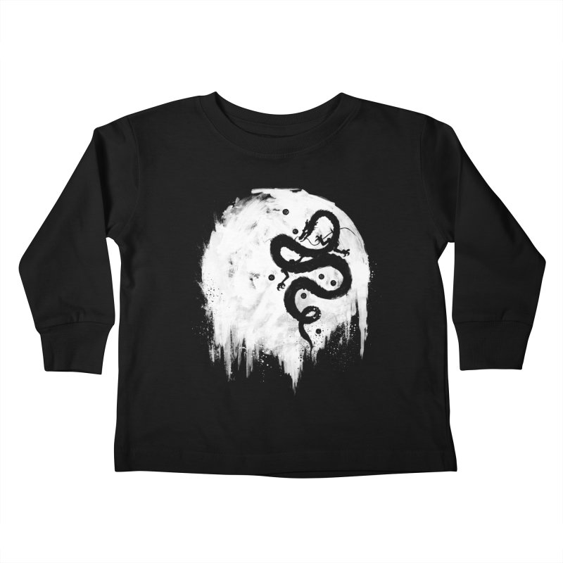 Midnight Wish Kids Toddler Longsleeve T-Shirt by PandaBacon's Artist Shop