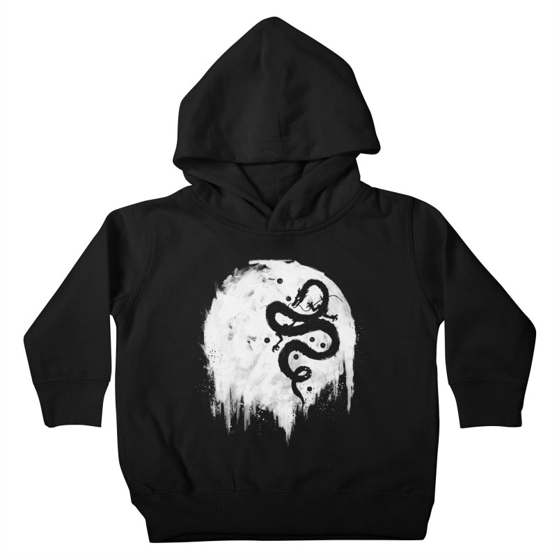 Midnight Wish Kids Toddler Pullover Hoody by PandaBacon's Artist Shop