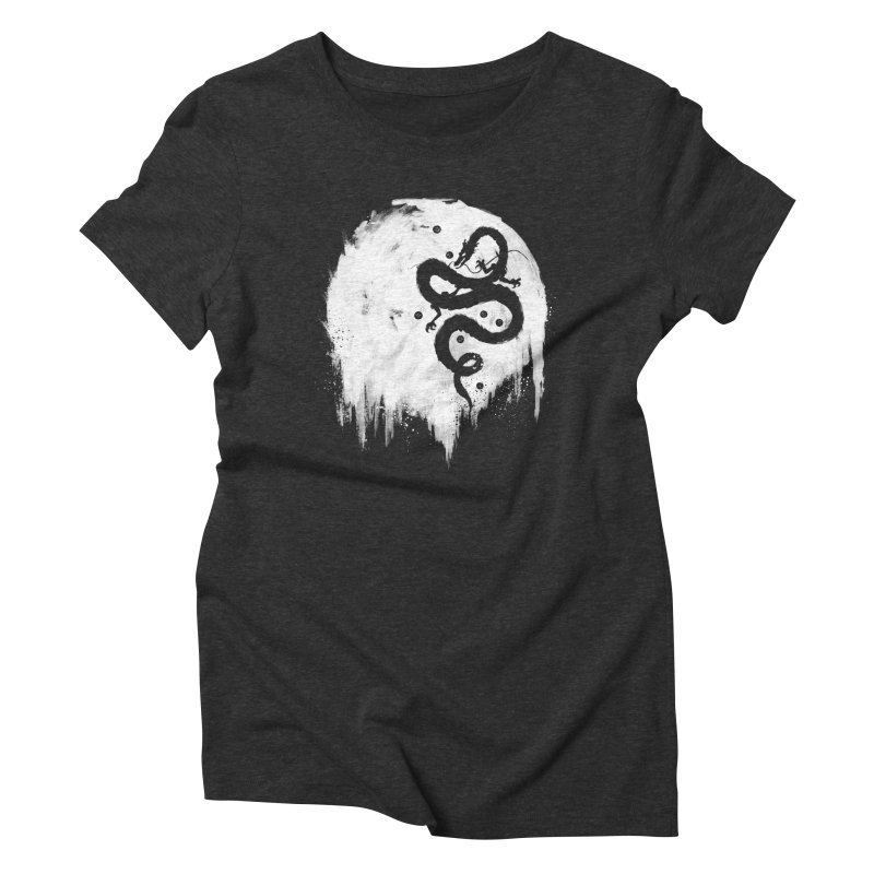 Midnight Wish Women's Triblend T-Shirt by PandaBacon's Artist Shop