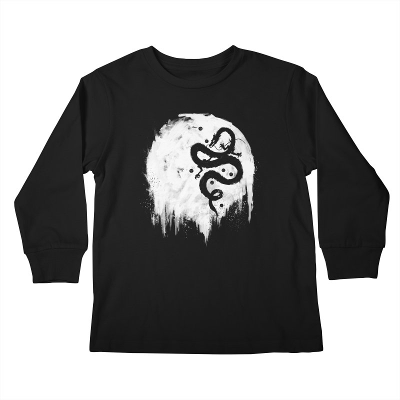 Midnight Wish Kids Longsleeve T-Shirt by PandaBacon's Artist Shop