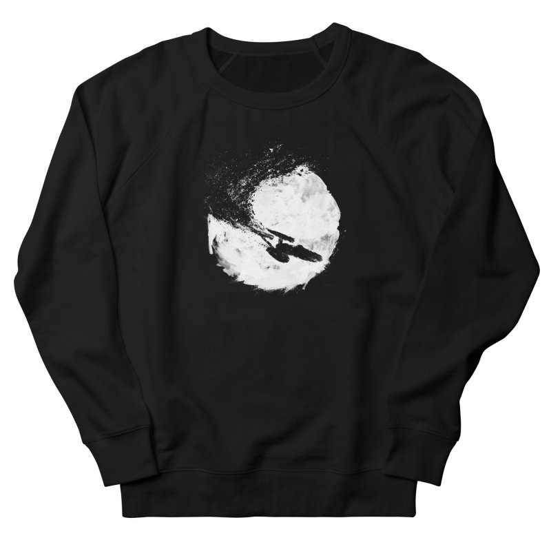 To Boldly Go... Men's Sweatshirt by PandaBacon's Artist Shop